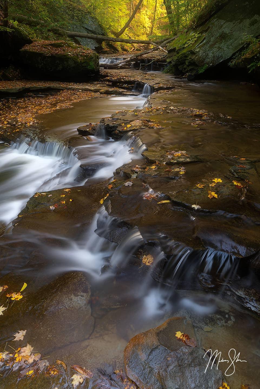 Lower Brandywine Falls - Brandywine Falls, Cuyahoga Valley National Park, Ohio