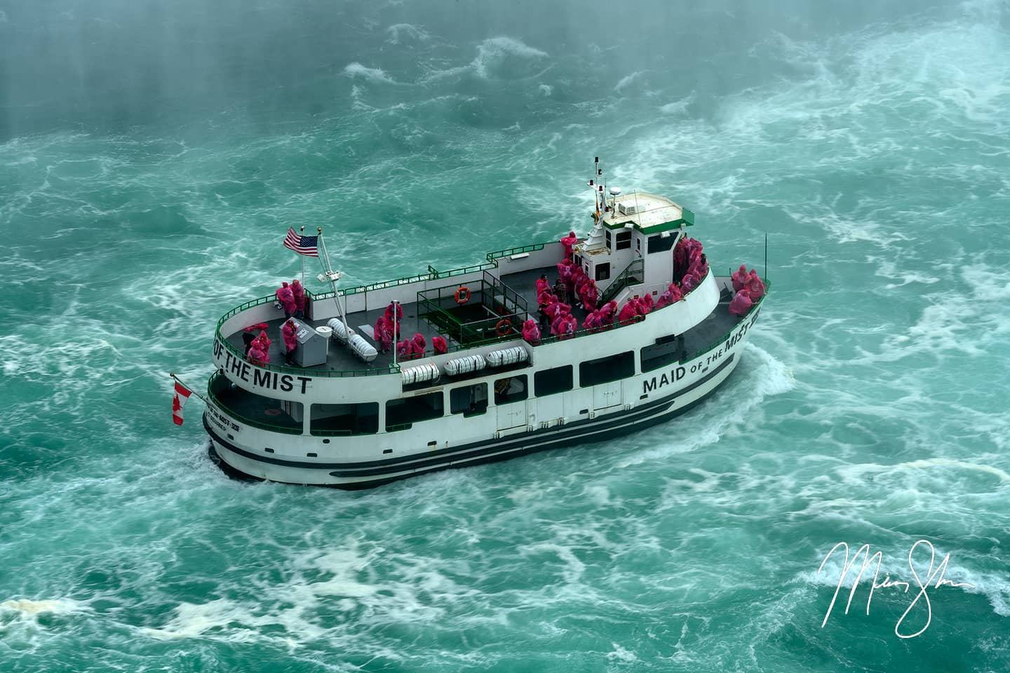 Maid of the Mist - Niagara Falls, Ontario, Canada