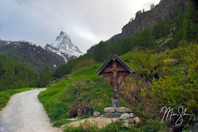 Matterhorn Cross - Zermatt, Switzerland