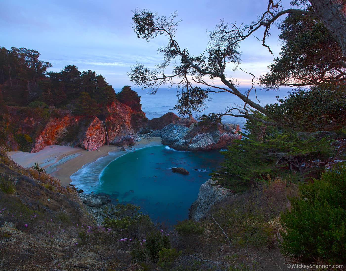 McWay Falls Sunset - Big Sur, California