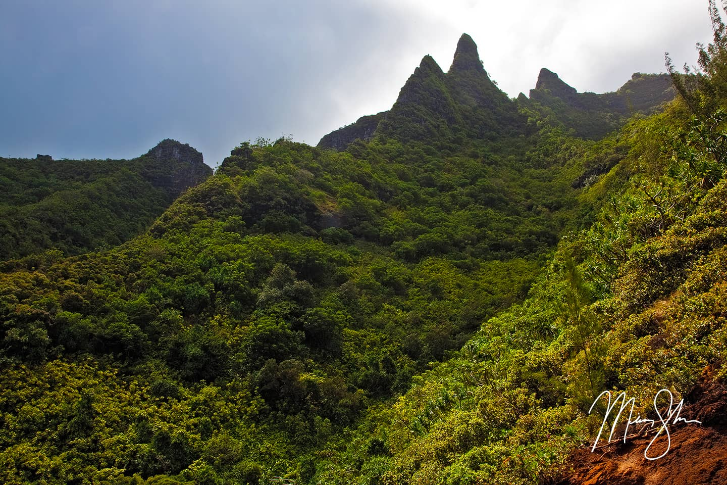 Napali Coast Cliffs