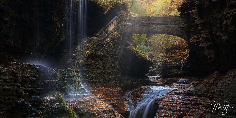 New York Photography: Watkins Glen waterfalls