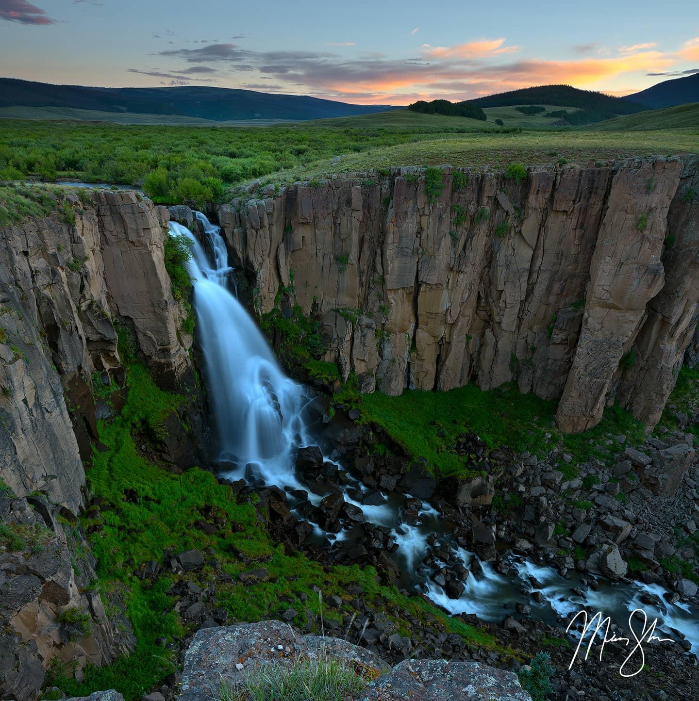 North Clear Creek Falls - Creede, Colorado