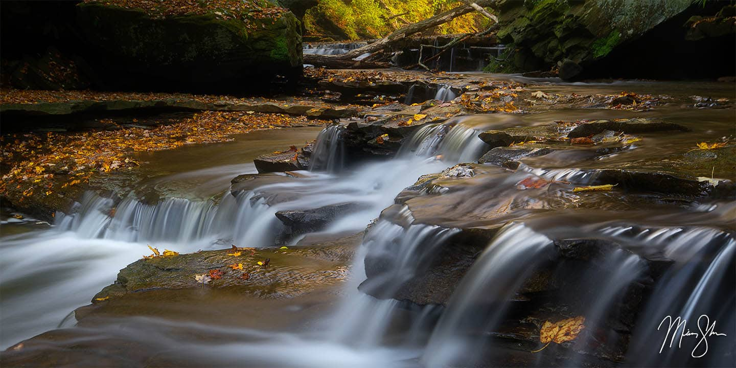 Ohio Photography: Cuyahoga Valley waterfalls