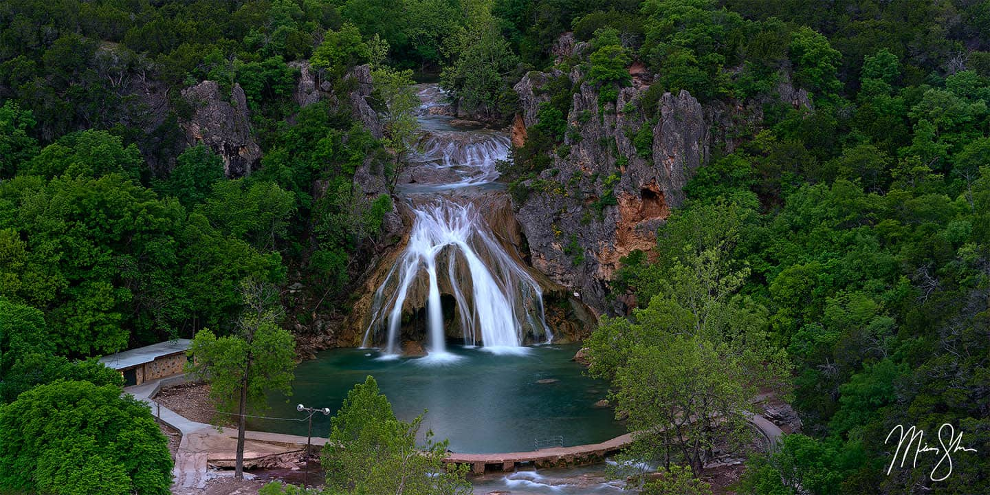 Oklahoma Photography: Turner Falls in the spring