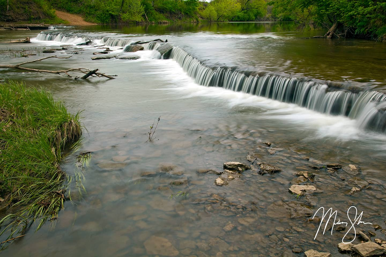 Osro Falls Kansas - Osro Falls, Cedar Vale, KS
