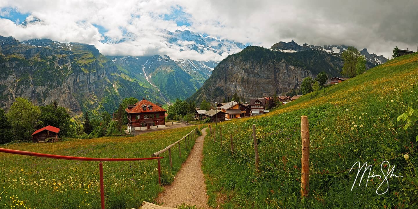 Path to Gimmelwald