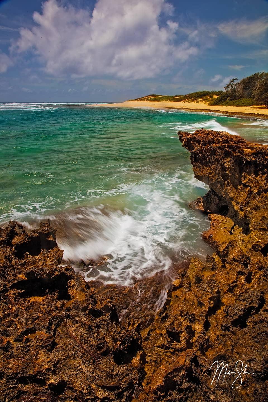 Pristine Kawailoa Bay - Mahaulepu, Kawailoa Bay, Kauai, Hawaii