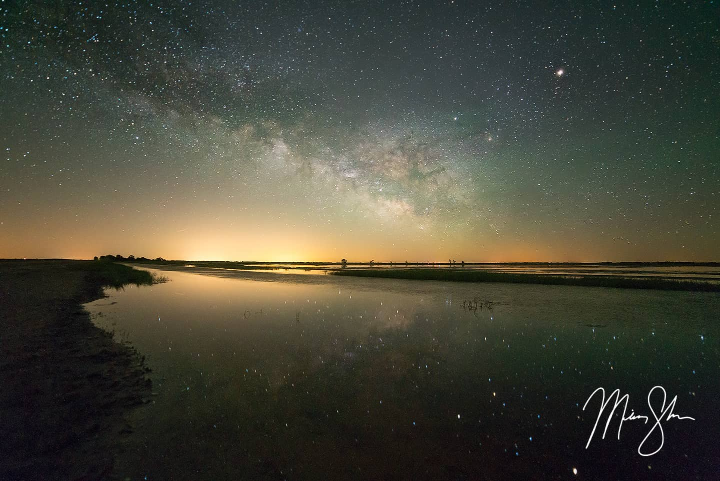 Quivira Milky Way Reflection