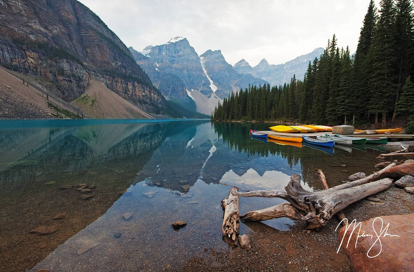 Reflective Moraine Lake