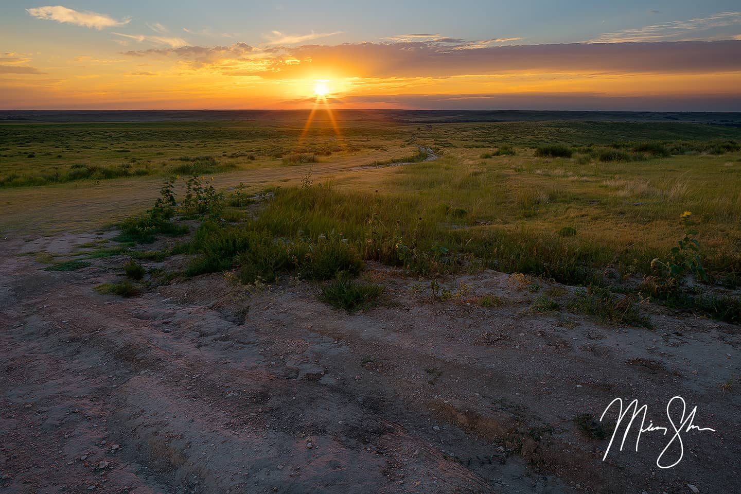Road to the Past - Arikaree Breaks, Kansas