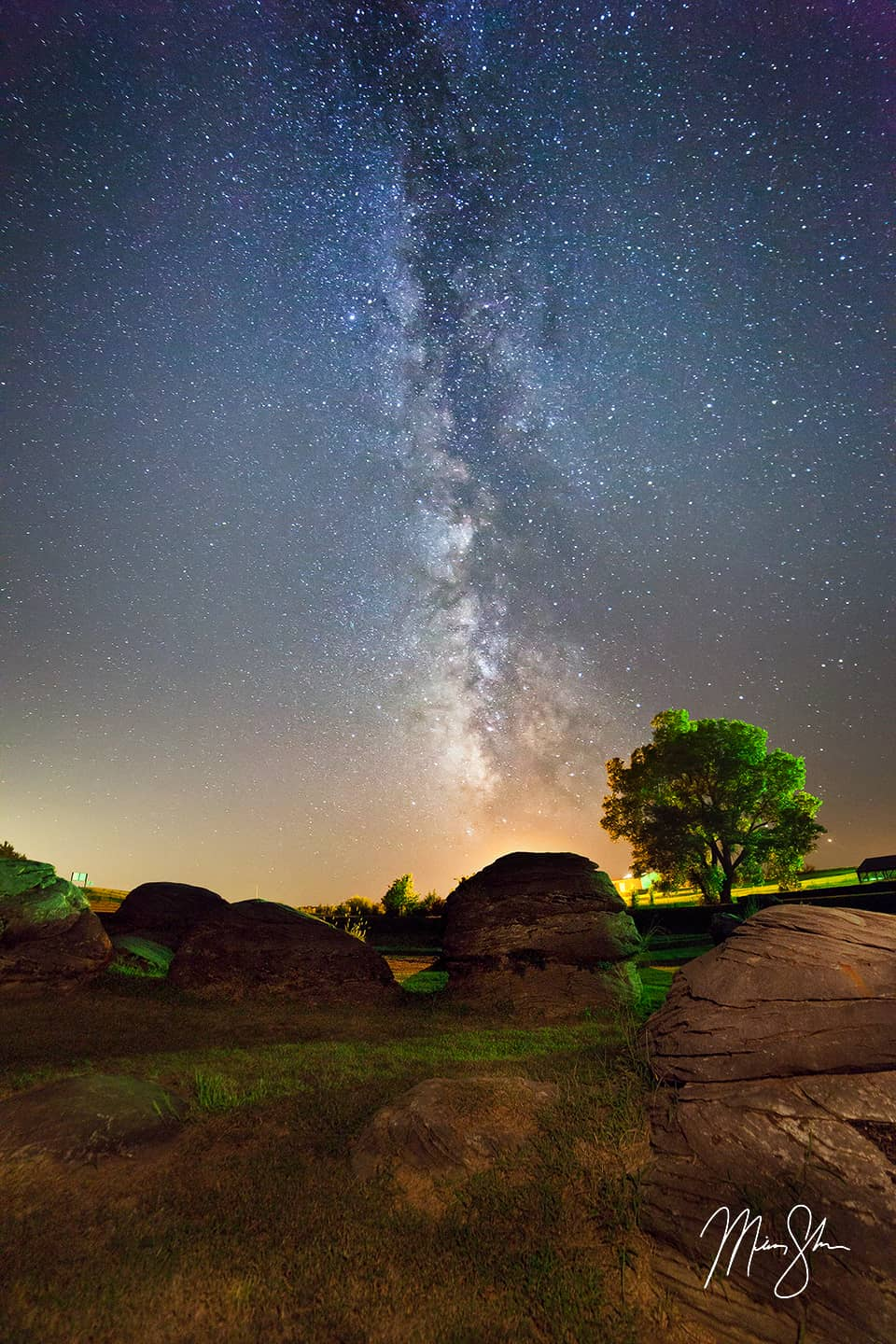 Rock City Milky Way - Rock City, Minneapolis, Kansas