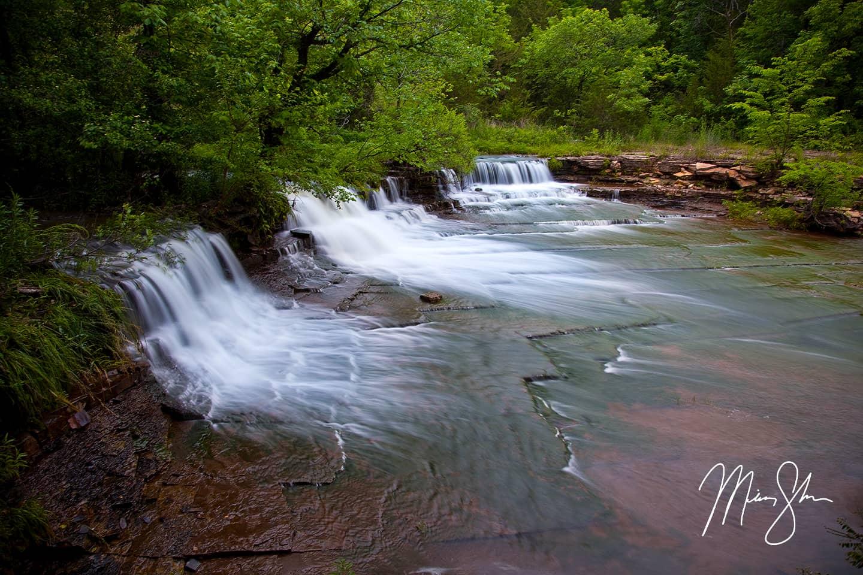 Rock Creek Falls - Rock Creek Lake, Fort Scott, Kansas