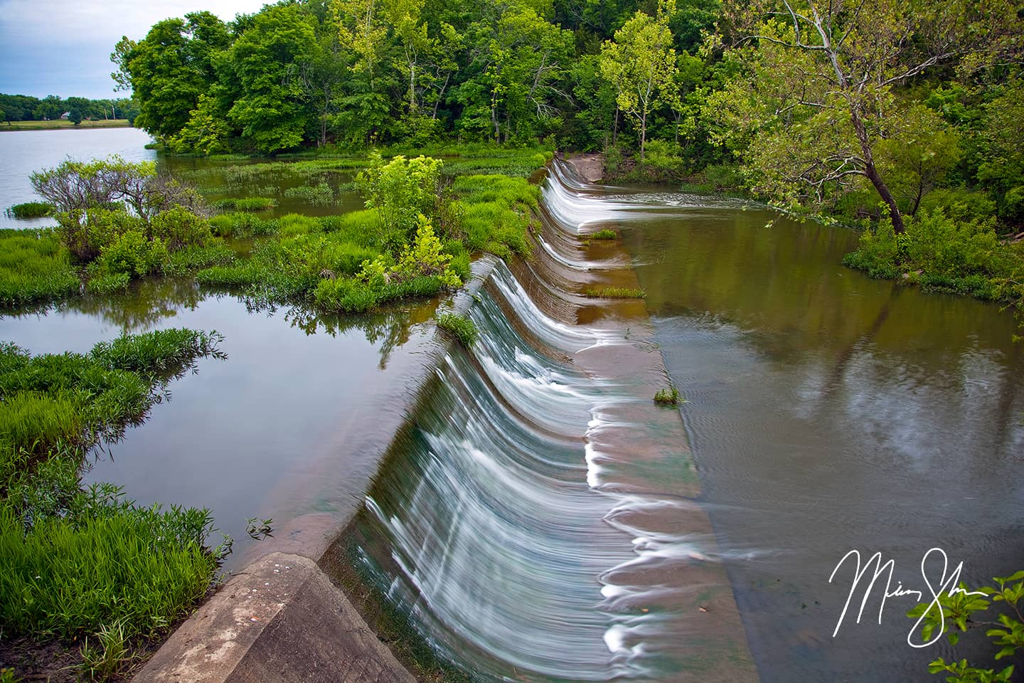 Rock Creek Lake Spillway