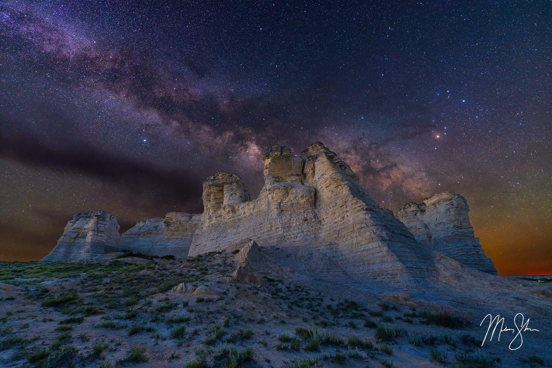 Rock of Ages - Monument Rocks, Kansas