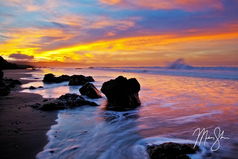 San Simeon Sunrise