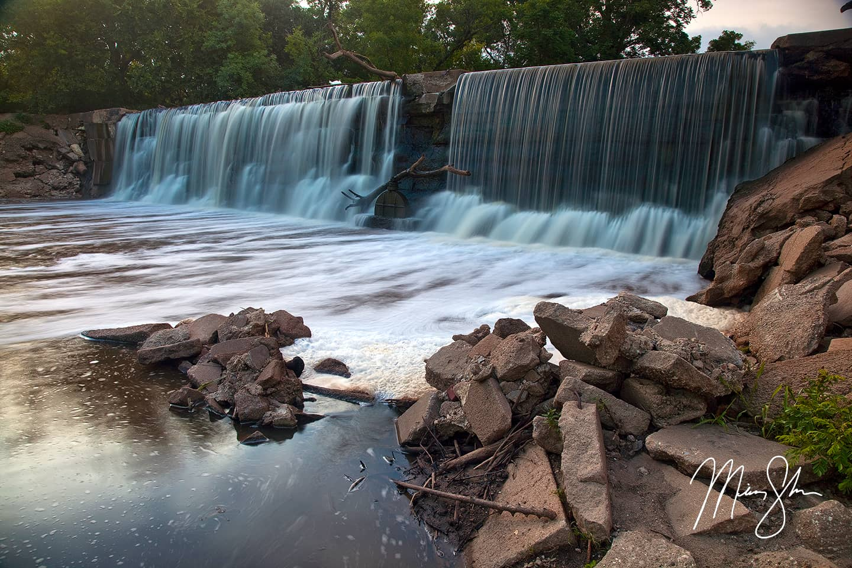 Slate Creek Dam Falls