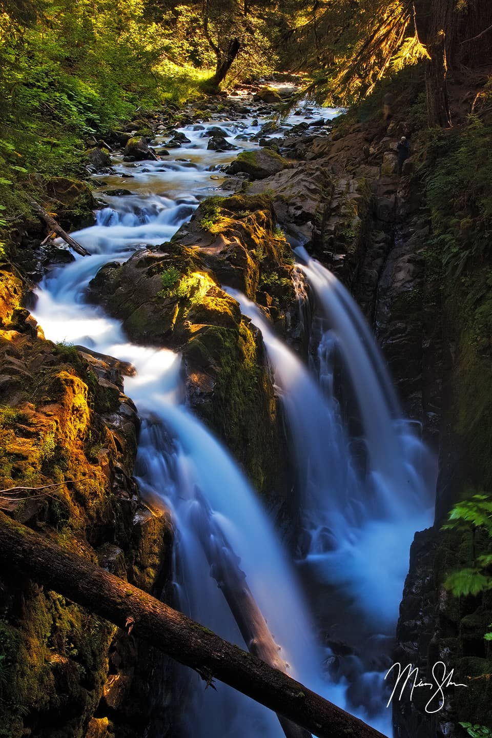 Sol Duc Falls #2 - Sol Duc Falls, Olympic National Park, Washington, USA
