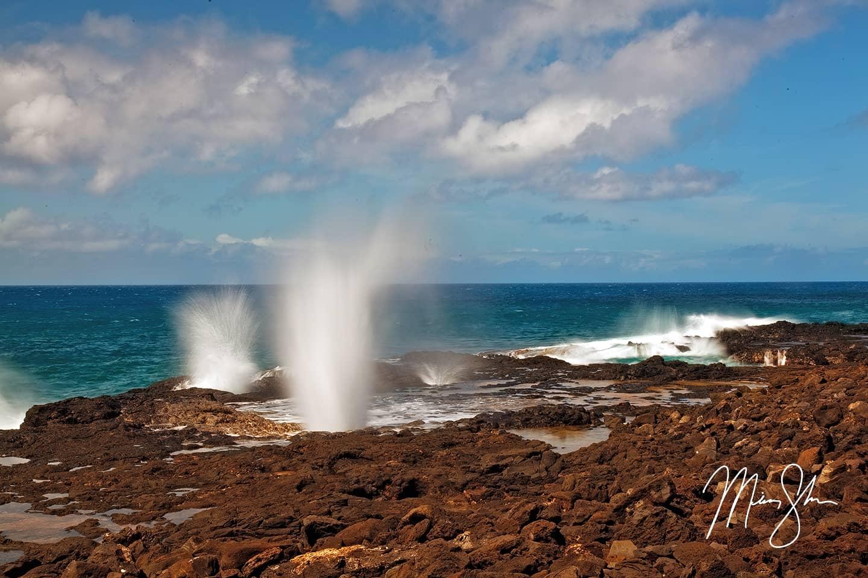 Spouting Horn - Spouting Horn, Kauai, Hawaii