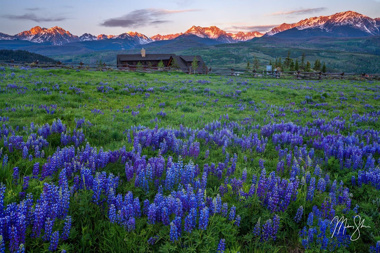 Summit County Sunrise - Silverthorne, Colorado