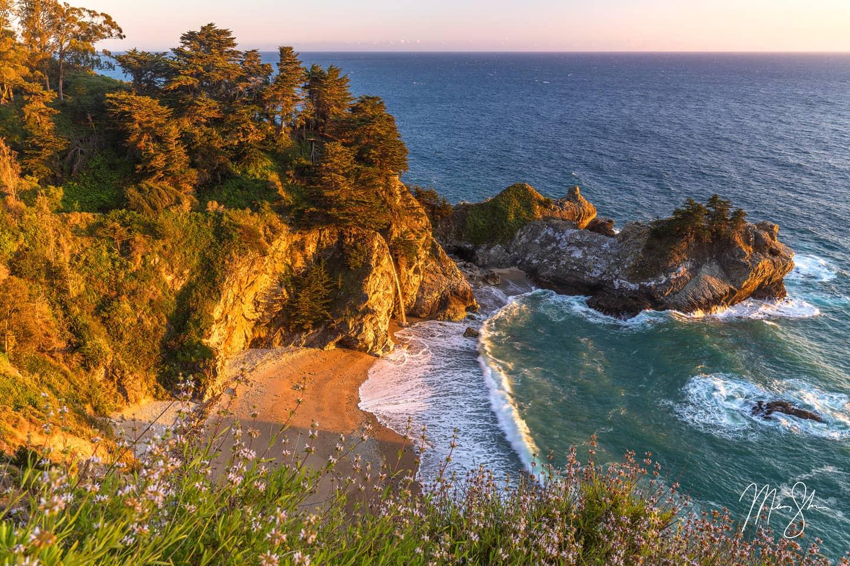 Sunkissed - McWay Falls, Big Sur, California