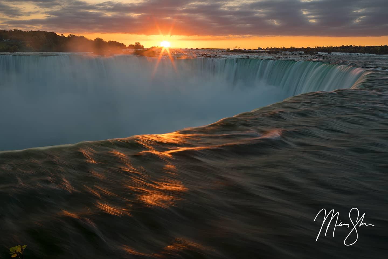 Sunrise Plunge - Niagara Falls, Ontario, Canada