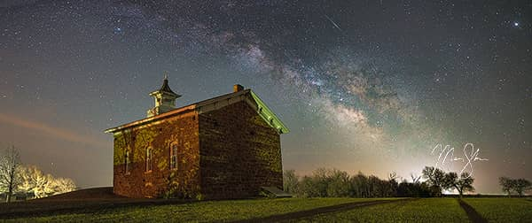 Arvonia Church Milky Way