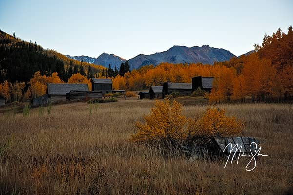 Autumn At Ashcroft Ghost Town