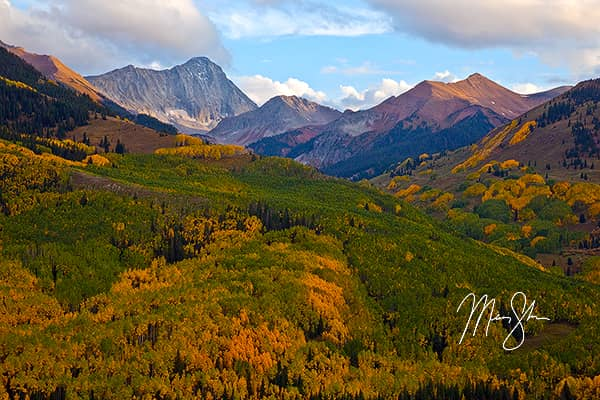Autumn at Capitol Peak