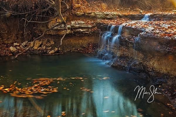 Autumn at Chase Lake Falls