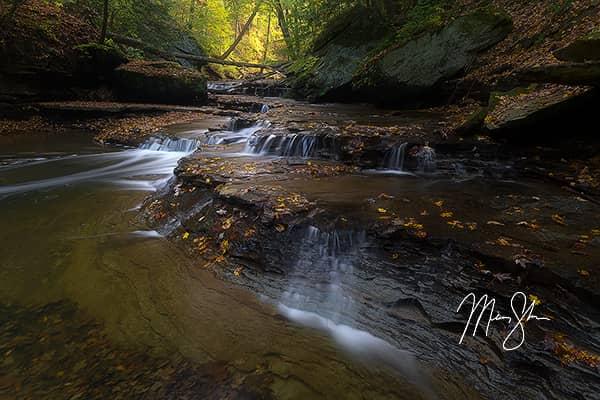 Autumn at Lower Brandywine Falls