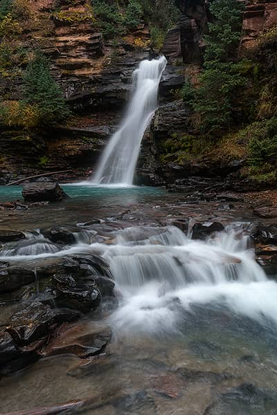 Autumn at South Mineral Creek Falls