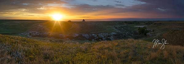 Battle Canyon Sunrise
