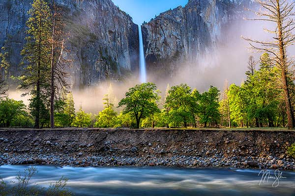 Beautiful Bridalveil Falls