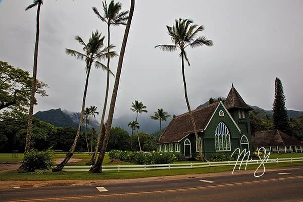 Beautiful Hanalei Wai'oli Hui'ia Church