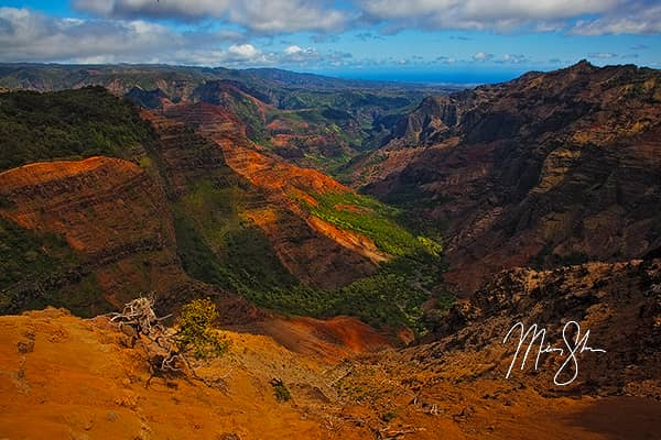 Beautiful Waimea Canyon