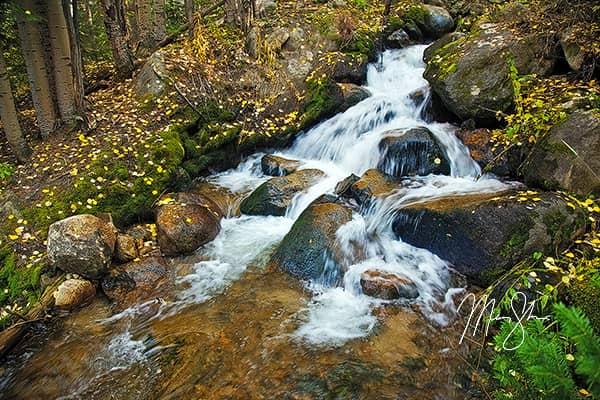 Boulder Brook Autumn Waterfalls