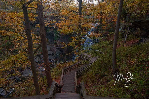 Brandywine Falls of Cuyahoga Valley