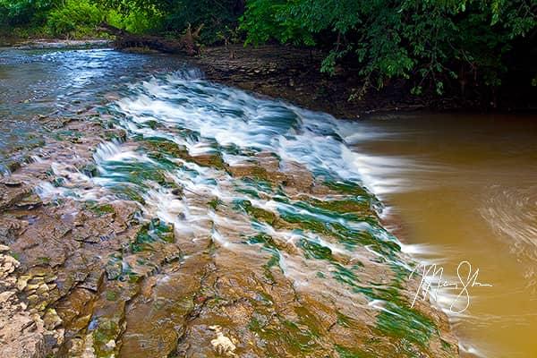 Buck Creek Falls Cascades