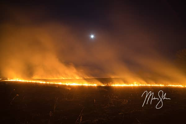 Burning of the Flint Hills