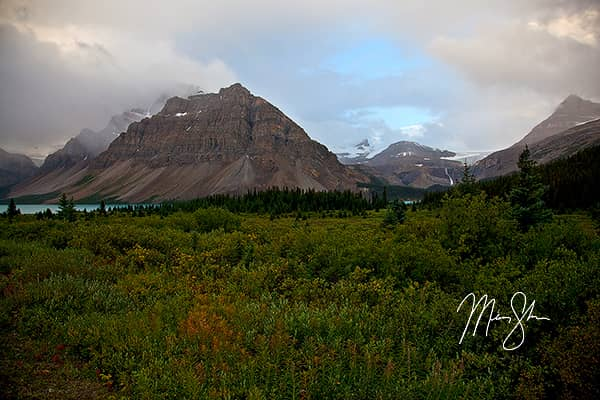 Canadian Rockies Foggy Morning Sunrise