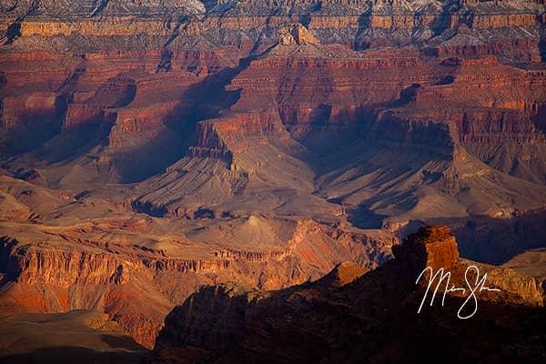 Canyon Walls Sunlight