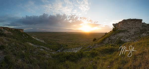Castle Rock Sunrise Panorama