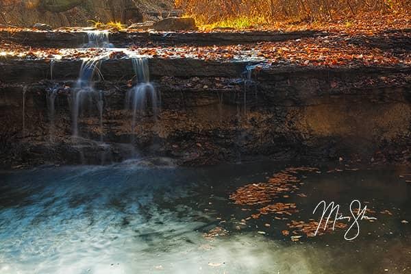 Chase Lake Falls of Gold
