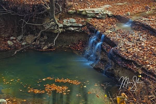 Chase Lake Golden Falls
