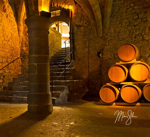 Chateau de Chillon Cellar