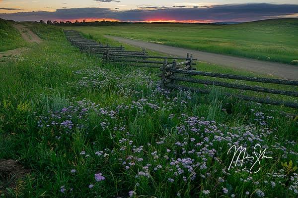 Colorado Summer Sunset