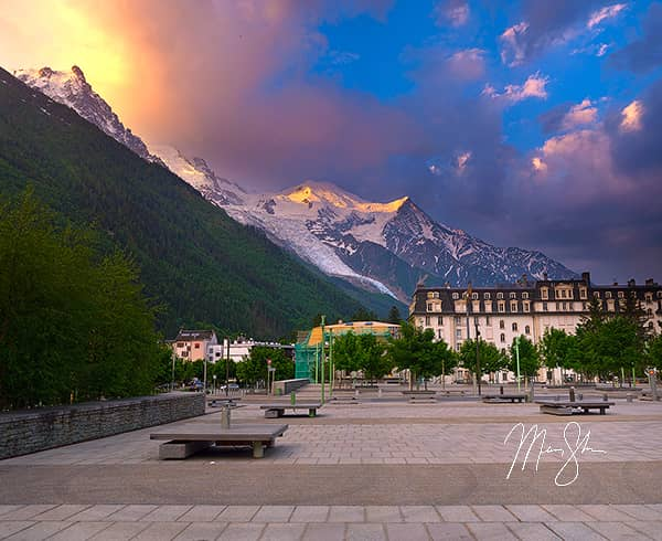 Colorful Chamonix