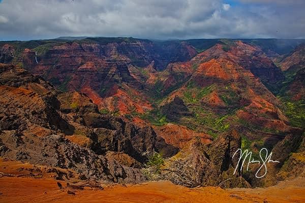 Colorful Waimea Canyon