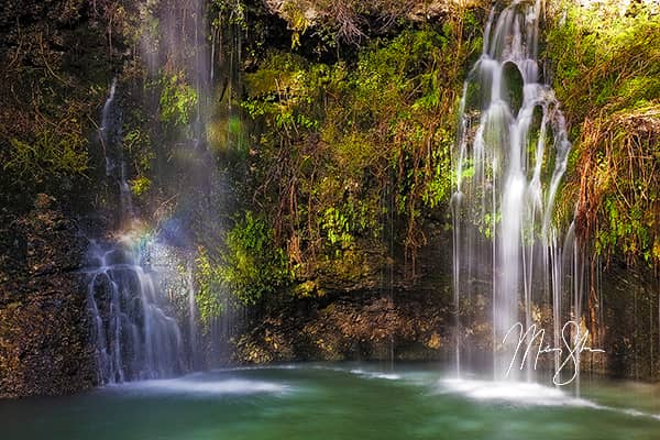 The Colors of Natural Falls